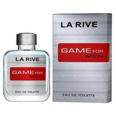3 Unidades Game for Man Eau de Toilette La Rive - Perfume Masculino 100ml