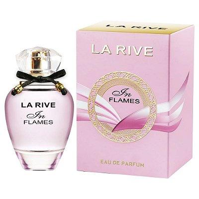 3 Unidades In Flames Eau De Parfum La Rive - Perfume Feminino - 90ML