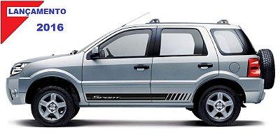 Kit Adesivo modelo G1 Sport para Ford EcoSport antiga faixa lateral tuning SRT Wolf 1 acessórios