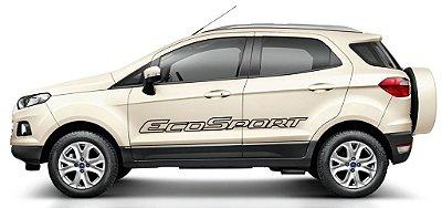 Kit Adesivo faixa lateral tuning Ford Nova EcoSport modelo Nova EcoSport vazada  SRT