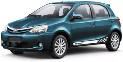 Etios Toyota Kit Faixa lateral ET1 Sport adesiva tuning  acessórios Fita Colante SRT Wolf 1