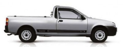 Kit Adesivo faixa lateral tuning Ford Courier Endura e Rocam modelo Courier SRT