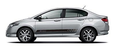 Kit adesivo Honda City geraçao 1 G1 Sport
