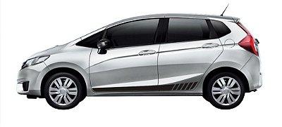 Kit Adesivo New Fit Honda Faixa Lateral modelo M1 Acessórios Fita Colante SRT Wolf 1