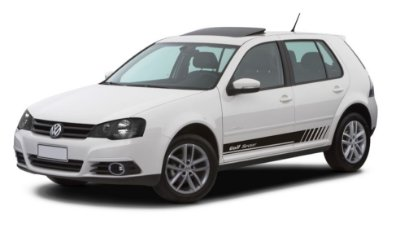 Kit Adesivos Golf G3 G4 VW modelo Sport Acessórios Faixa Fita Colanet SRT Wolf 1