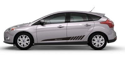 Adesivo Ford Novo Focus G3 hatch sedan modelo Sport Fita Colante SRT Wolf 1