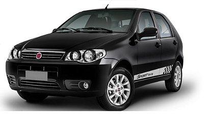 Adesivo lateral Siena e Pálio até G3 Fiat Sport Racing Acessórios Peças Fita Colante SRT