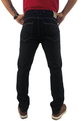 Calça Masculina Cintura Média Skinny Amaciada