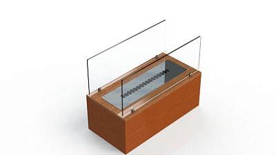 Lareira Ecológica  - Modelo Portland - 600 - Lareira econômica e versátil para qualquer ambiente.