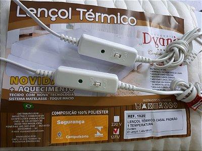Lençol Casal Luxo 110V Nova Tecnologia Matelasse Mais Macio Mais Tecnologia