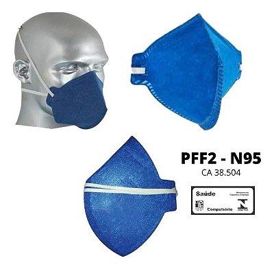 Máscaras PFF2/N95 Sem Filtro - Lote com 10 máscaras