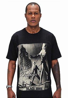 T Shirt Black Zone Rio Antigo