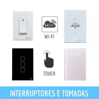 TOMADAS E INTERRUPTORES