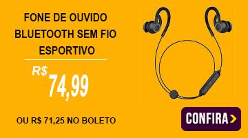 Fone De Ouvido Bluetooth Esportivo Sly08