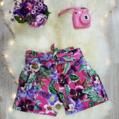 Short Estampa Floral