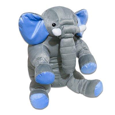 Travesseiro Almofada Elefante Azul