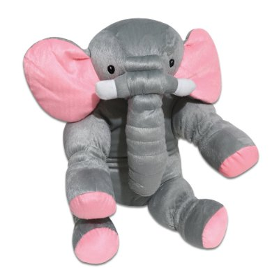 Travesseiro Almofada Elefante Rosa