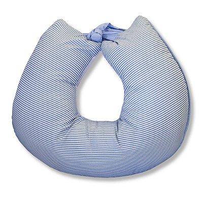 Almofada Amamentação Clássico Azul