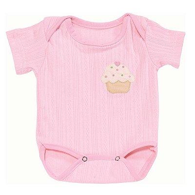 Body Para Bebê Cupcake