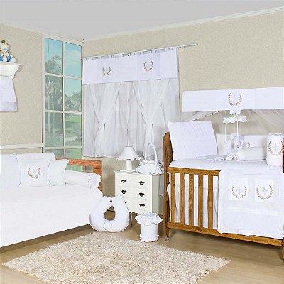 Quarto para Bebê New Provençal Branco