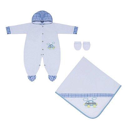 Saída Maternidade Fusca Herbie 3 Peças