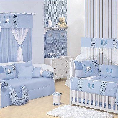 Quarto para Bebê Sem Cama Babá Patch Ursinho