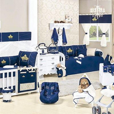 Quarto para Bebê Sem Cama Babá Príncipe Luxo