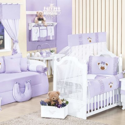 Quarto para Bebê Sem Cama Babá Ursa Sofia
