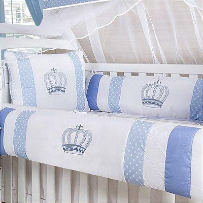 Kit Berço Rei Azul 10 Peças