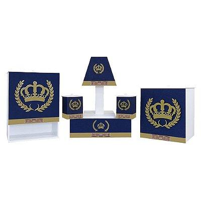 Kit Higiene Coroa Luxo MDF