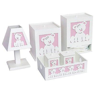 Kit Higiene Ursa Baby Mdf