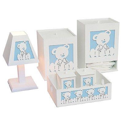 Kit Higiene Urso Baby Mdf