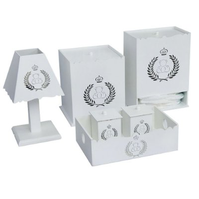 Kit Higiene Urso Imperial Mdf