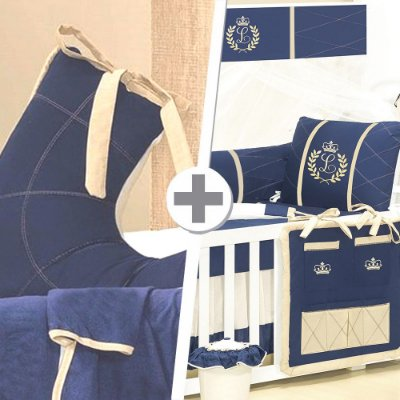 Combo Confort  Com a Inicial do Bebê Luxo