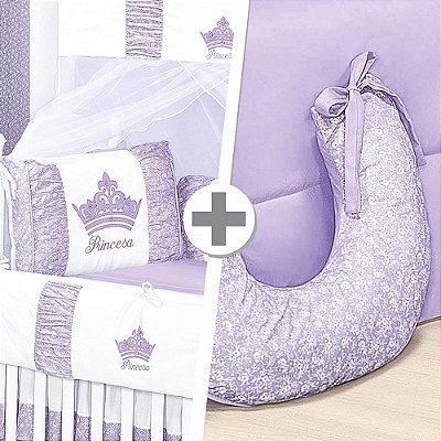 Combo Confort Princesinha Lilás