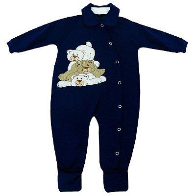 Macacão Para Bebê Ursinho Fofinho
