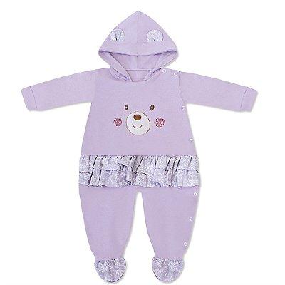 Macacão Teddy Bear Lilás