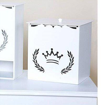 Lixeira Coroa MDF
