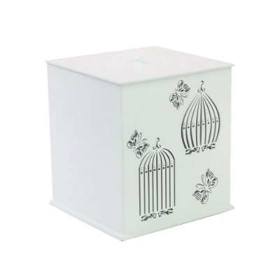 Lixeira Glamour Butterfly Mdf