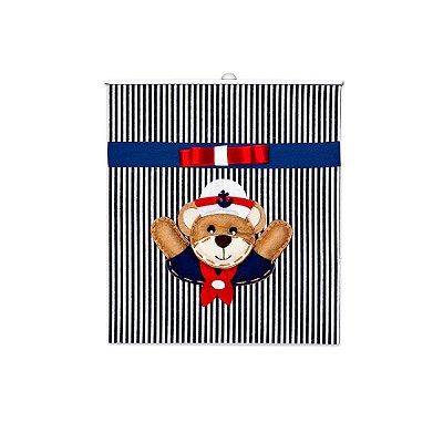 Lixeira Urso Marinheiro Mdf