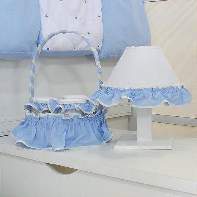 Kit Acessórios Coroa Luxo Bebê 5 Peças