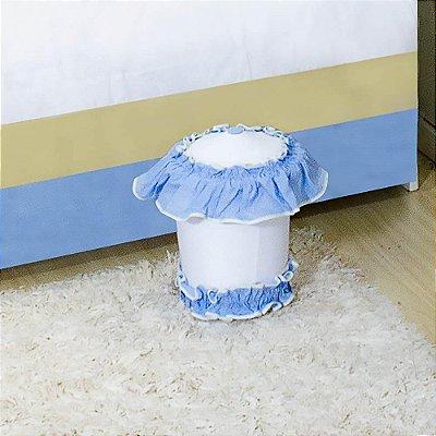 Lixeira Coroa Luxo Azul