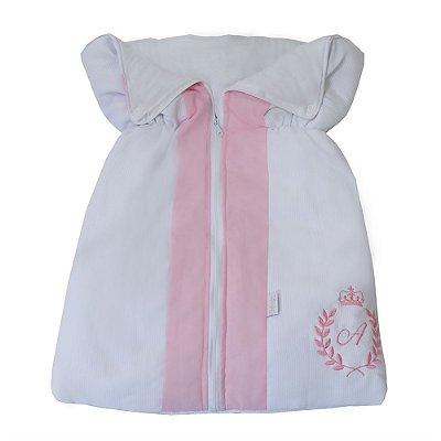 Porta Bebê Feito A Mão Rosa