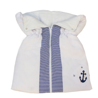 Porta Bebê Marinheiro Azul