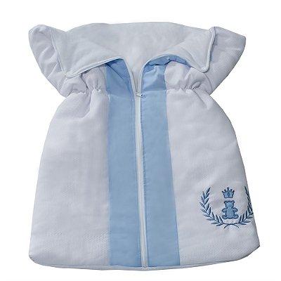 Porta Bebê Realeza Azul Bebê