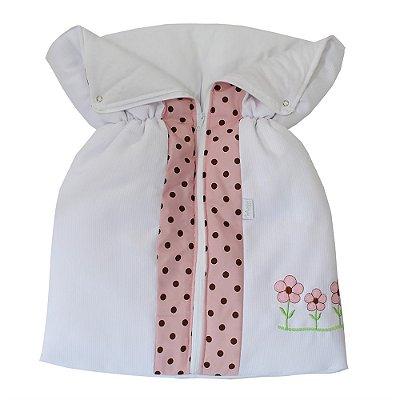 Porta Bebê Ursa Butterfly Rosa