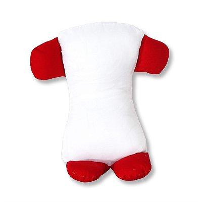 Travesseiro Soninho Bichos Vermelho