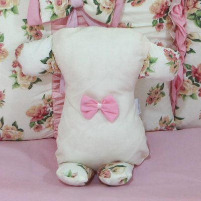 Travesseiro Soninho Floral Luxo