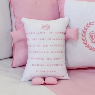 Travesseiro Soninho Coroa Rosa