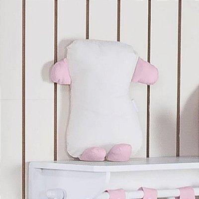 Travesseiro Soninho Feito A Mão Rosa